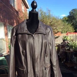 Fantastic Condition, Genuine Leather Coat